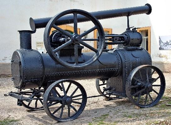 Lokomobil im Museum Blankenhain (Foto von André Karwath)