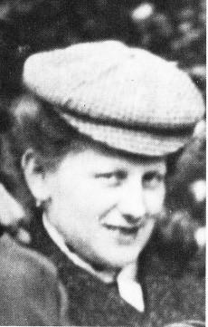 Helene Windmüller um 1900